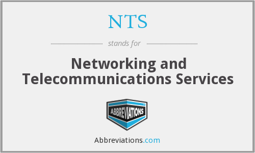 NTS - Networking and Telecommunications Services