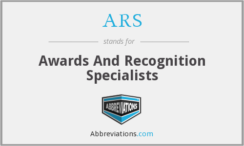 ARS - Awards And Recognition Specialists
