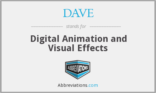 DAVE - Digital Animation and Visual Effects