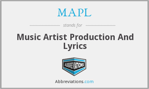 What does MAPL stand for?