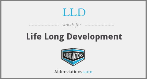 LLD - Life Long Development