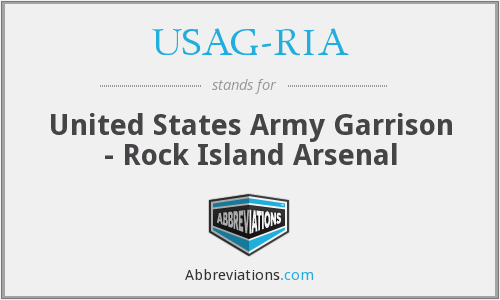 What does USAG-RIA stand for?