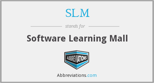 SLM - Software Learning Mall