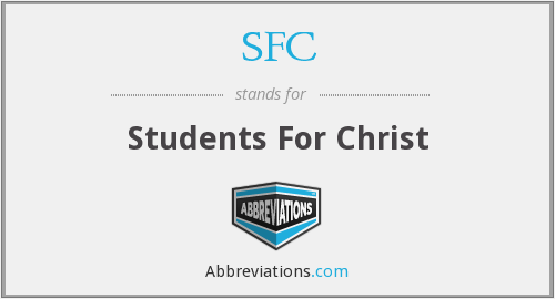 SFC - Students For Christ