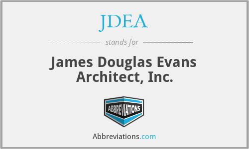 JDEA - James Douglas Evans Architect, Inc.