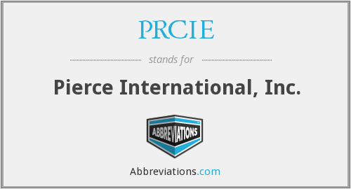PRCIE - Pierce International, Inc.