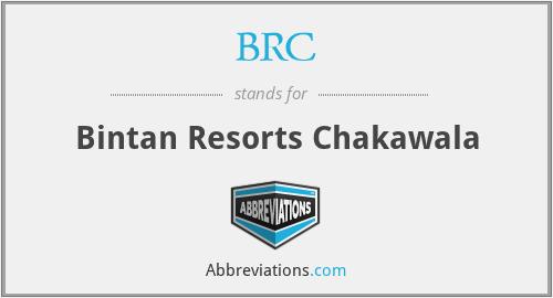 BRC - Bintan Resorts Chakawala