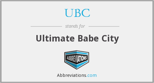 UBC - Ultimate Babe City