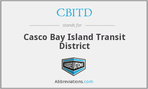 CBITD - Casco Bay Island Transit District