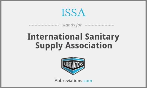 ISSA - International Sanitary Supply Association