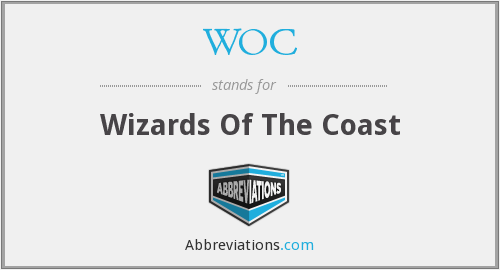 WOC - Wizards Of The Coast