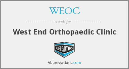 What does WEOC stand for?