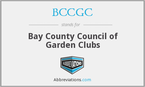BCCGC - Bay County Council of Garden Clubs