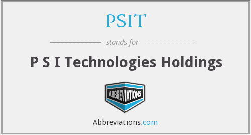 What does PSIT stand for?