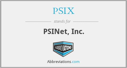 PSIX - PSINet, Inc.