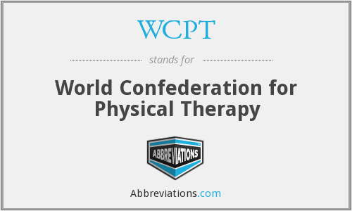 What does WCPT stand for?