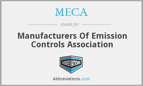 What does MECA stand for?