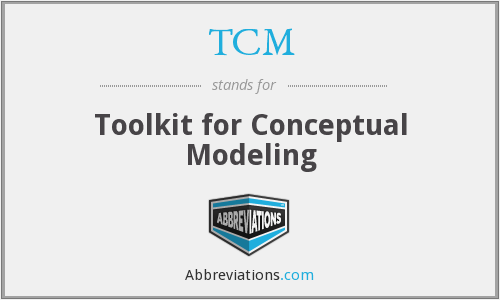 TCM - Toolkit for Conceptual Modeling