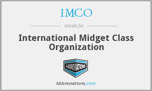 IMCO - International Midget Class Organization