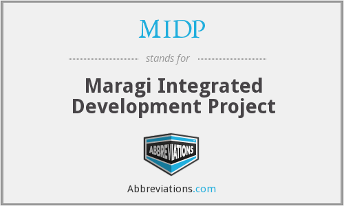 MIDP - Maragi Integrated Development Project