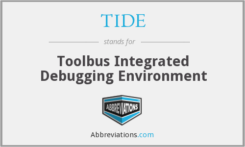 TIDE - Toolbus Integrated Debugging Environment