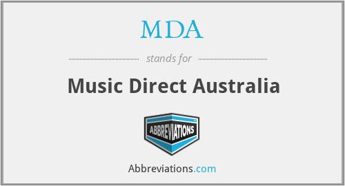 MDA - Music Direct Australia
