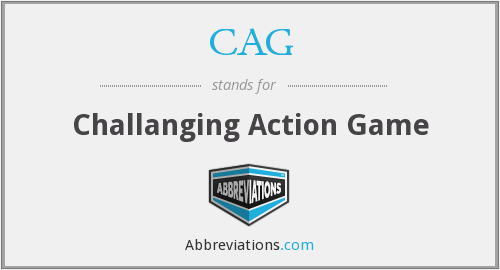 CAG - Challanging Action Game