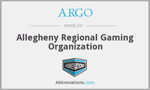 ARGO - Allegheny Regional Gaming Organization