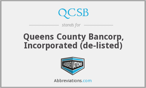 What does QCSB stand for?