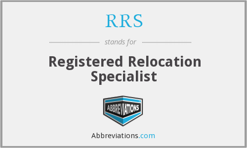 RRS - Registered Relocation Specialist