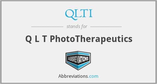 QLTI - Q L T PhotoTherapeutics