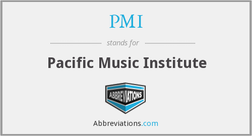 PMI - Pacific Music Institute