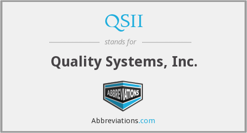 What does QSII stand for?