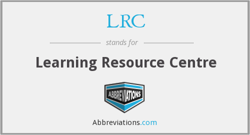 LRC - Learning Resource Centre