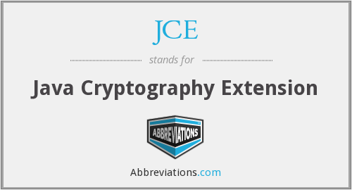 What does JCE stand for?