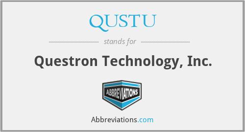 QUSTU - Questron Technology, Inc.