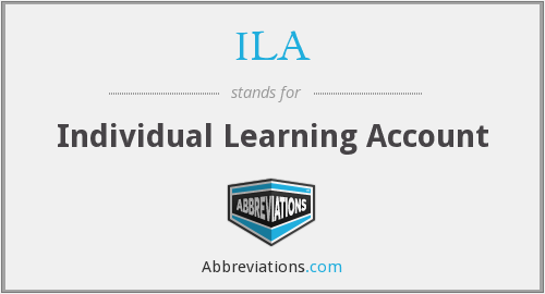ILA - Individual Learning Account
