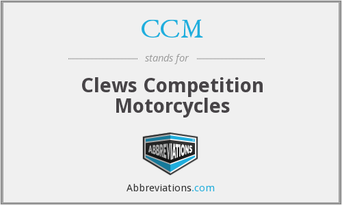 CCM - Clews Competition Motorcycles
