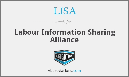 LISA - Labour Information Sharing Alliance