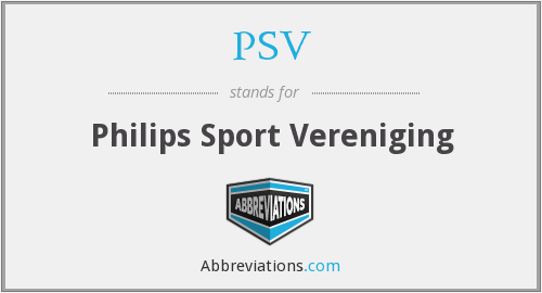 PSV - Philips Sport Vereniging