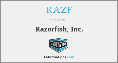 What does RAZF stand for?