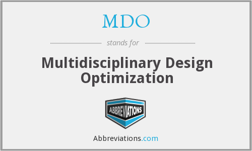 What does MDO stand for?