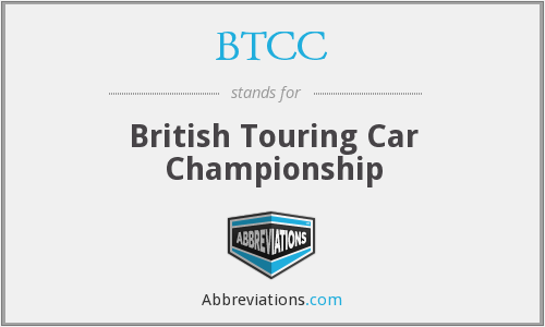 BTCC - British Touring Car Championship
