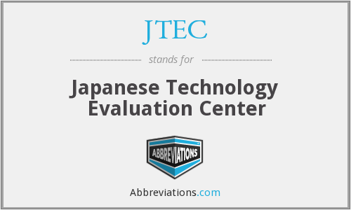 What does JTEC stand for?