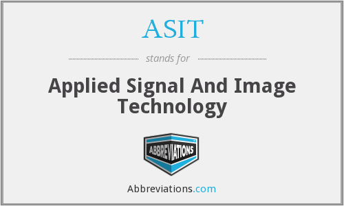 ASIT - Applied Signal And Image Technology