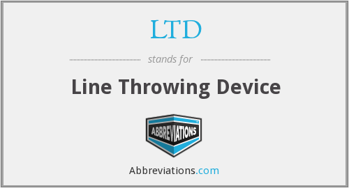 LTD - Line Throwing Device