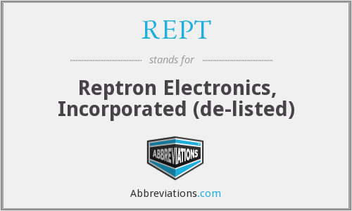 What does REPT stand for?