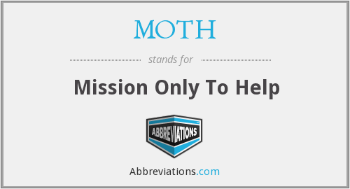 MOTH - Mission Only To Help