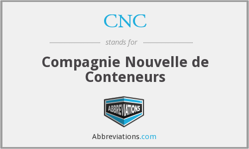 CNC - Compagnie Nouvelle De Conteneurs
