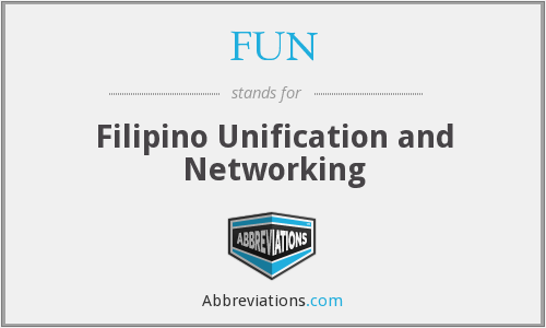 FUN - Filipino Unification and Networking